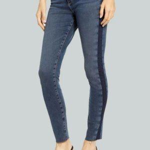 NWOT AG Farrah High Waist Side Stripe Jeans 30